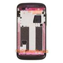 Full Housing Cover for HTC Desire V T328W -Black