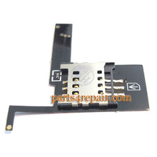 SIM Holder Flex Cable for HTC EVO 3D from www.parts4repair.com