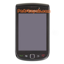 Complete Screen Assembly with Bezel for BlackBerry Torch 9800(002 Version) -Black