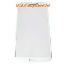 Front Glass Lens for Samsung Galaxy Mega 6.3 I9200 -White from www.parts4repair.com