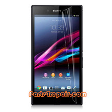Clear Screen Protector Shield Film for Sony Xperia Z Ultra XL39H