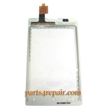 Touch Screen Digitizer for Sony Xperia E C1505 -White