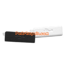 USB Cover for Sony Xperia S -White from www.parts4repair.com