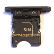 SIM Tray for Nokia Lumia 1020 -Black from www.parts4repair.com
