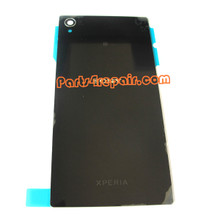 Generic Back Cover for Sony Xperia Z1 L39H -Black from www.parts4repair.com