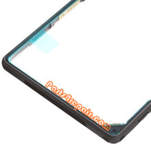 Middle Cover for Sony Xperia Z1 L39H -Black
