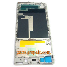 Front Housing Cover for Sony Xperia Z1 L39H -White