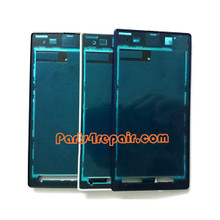 Front Housing Cover for Sony Xperia Z1 L39H -Purple from www.parts4repair.com
