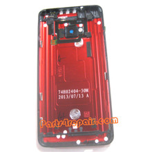We can offer Back Cover for HTC One -Red