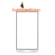 Touch Screen Digitizer for LG G Pro Lite D680 -White from www.parts4repair.com