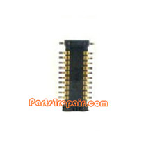 Audio FPC Connector for Samsung I9500 Galaxy S4 from www.parts4repair.com
