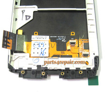 Complete Screen Assembly with Bezel for Motorola Droid Ultra XT1080 -Black