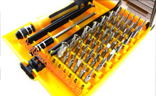 6089-A 45 in 1 Precision Torx Screwdriver Tool Set for Cellphone PC Tablet Notebook