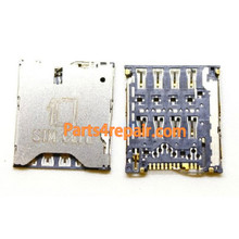 SIM Contact Holder for Sony Xperia ZL L35H from www.parts4repair.com