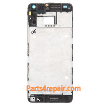 Front Housing Cover for HTC One mini M4 -White from www.parts4repair.com