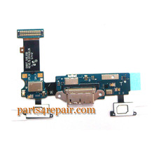 Dock Charging Flex Cable for Samsung Galaxy S5 G900T from www.parts4repair.com