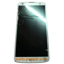 Full Screen Assembly with Bezel for LG G Pro 2 D838 (for Asia) -White from www.parts4repair.com