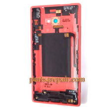 We can offer Back Cover for HTC 8X (HTC Version) -Red