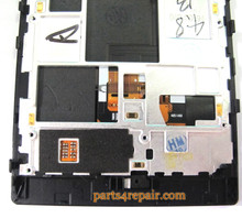 Complete Screen Assembly with Bezel for Nokia Lumia 928 (for Version)