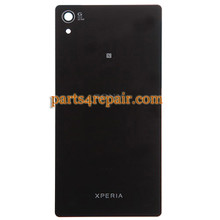 Back Cover for Sony Xperia Z2 -Black from www.parts4repair.com