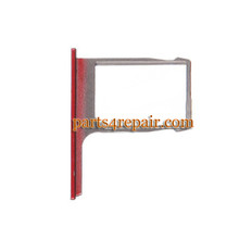 SIM Tray for HTC One M8 -Red from www.parts4repair.com