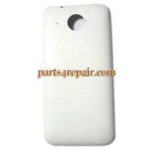 Back Cover for HTC Desire 601 Zara -White from www.parts4repair.com