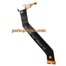 Dock Charging Flex Cable for Samsung P7500 Galaxy Tab 10.1 3G from www.parts4repair.com