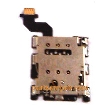 SIM Connector Flex Cable for HTC One M8 from www.parts4repair.com