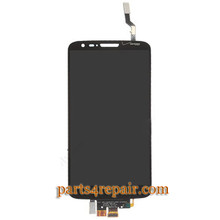 Complete Screen Assembly for LG G2 VS980 -Black (for Verizon)