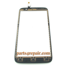 Touch Screen Digitizer for Lenovo A850 -Black