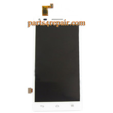 Complete Screen Assembly for Huawei Ascend G6 -White from www.parts4repair.com