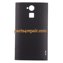 Back Cover for HTC One Max -Black from www.parts4repair.com