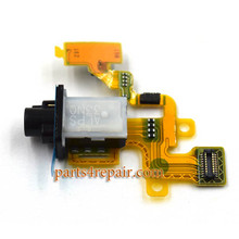 Earphone Jack Flex Cable for Sony Xperia Z1 Compact mini