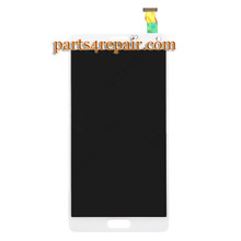 Complete Screen Assembly for Samsung Galaxy Note 4 -White from www.parts4repair.com
