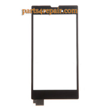 Touch Screen Digitizer for Sony Xperia T3 -Black from www.parts4repair.com