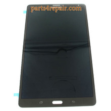 Complete Screen Assembly for Samsung Galaxy Tab S 8.4 T705 3G Version -Black