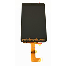 Complete Screen Assembly for Huawei Honor 6 -Black
