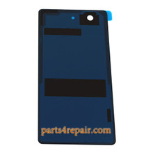 Generic Back Cover for Sony Xperia Z3 Compact mini -Black