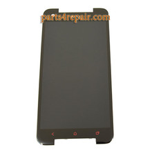 Complete Screen Assembly with LGP for HTC Butterfly S -Black from www.parts4repair.com