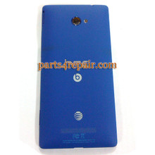 Back Cover for HTC Windows Phone 8X (AT&T Version) -Blue