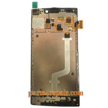 We can offer Complete Screen Assembly with Bezel for Gionee Elife S5.5 -White