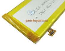 battery for ZTE Nubia Z7 mini NX507J from www.parts4repair.com