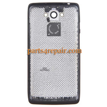back cover for Motorola Droid Turbo XT1254-Blue from www.parts4repair.com