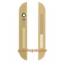 Top Cover & Bottom Cover for HTC One M8 -Gold