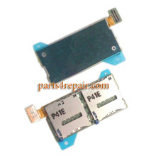Double SIM Card Reader Flex Cable for Sony Xperia T2 Ultra Dual