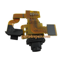 Earphone Jack Flex Cable for Sony Xperia Z3 Compact (Z3 mini)