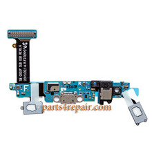 Dock Charging Flex Cable for Samsung Galaxy S6 G920F from www.parts4repair.com