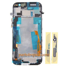 Complete Screen Assembly with Front Housing for HTC One M8 -Gold