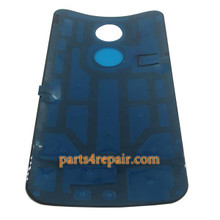 Back Cover with Adhesive for Motorola Moto X2 -Black