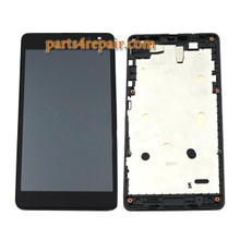 Complete Screen Assembly for Microsoft Lumia 535 Dual SIM from www.parts4repair.com
